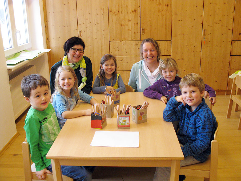 besuch f r die schulanf nger kindergarten st korona passau patriching. Black Bedroom Furniture Sets. Home Design Ideas